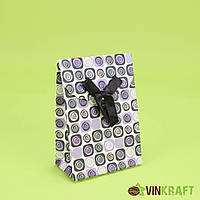 Подарунковий  пакет 72*38*100 XXS на липучці, (кратно 12 шт)