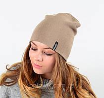 Женская теплая шапка - чулок
