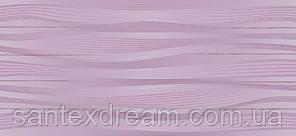 Плитка Интеркерама Батик 23x50 темно-фиолетовый (52)