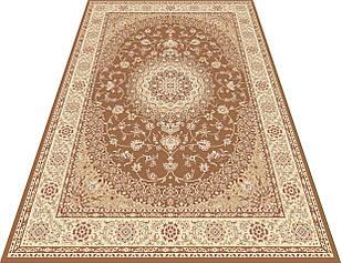 Коврик восточная классика TURKISTAN 7615A 0,8Х1,5 ЗЕЛЕНЫЙ прямоугольник