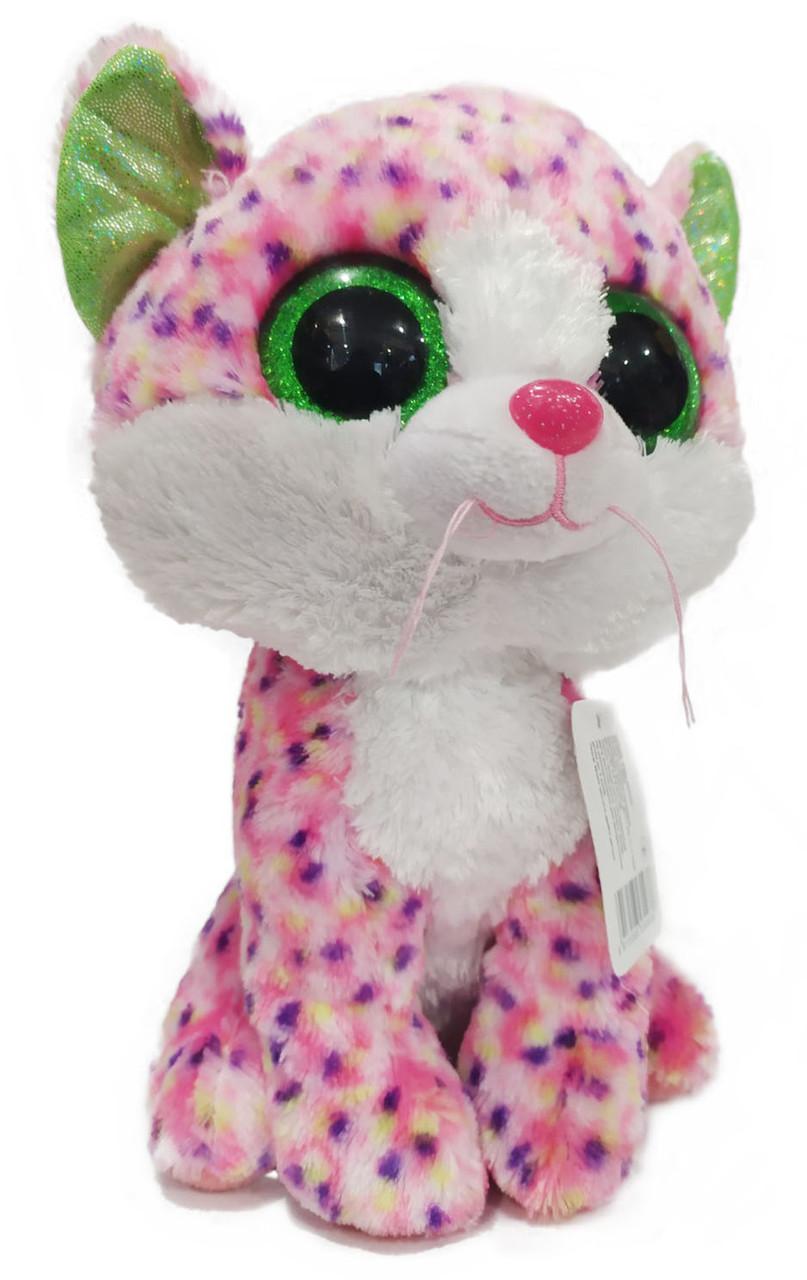 Мягкая игрушка Котик L3093 глазастик