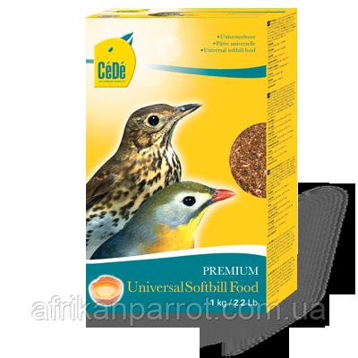 CéDé® Универсальный корм для  плодовых и насекомоядных птиц 1кг.