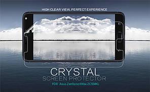Защитная пленка Nillkin Crystal для Asus Zenfone 4 Max (ZC554KL)