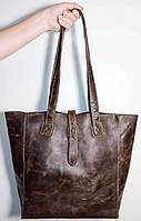 Кожаная женская сумка ручной работы / шкіряна жіноча сумка ручної роботи/сумка на пляж