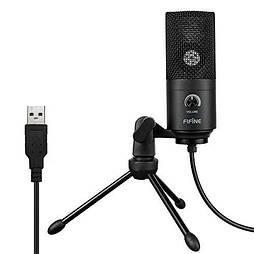 Cтудийный микрофон Fifine K669 Черный