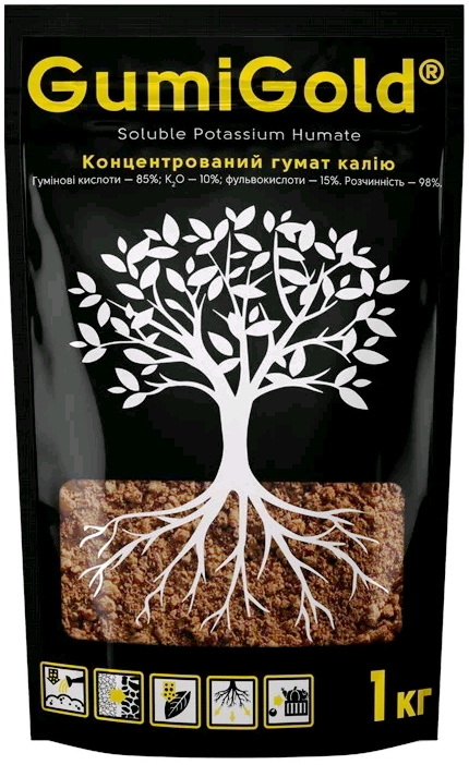 "Удобрение гумат калия ""Gumi Gold"" 1 кг"