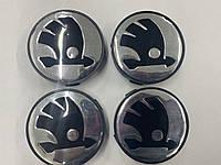 Шкода Фабия Колпачки в обычные диски 55 мм