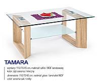 Стол журнальный TAMARA дуб сонома / молочный