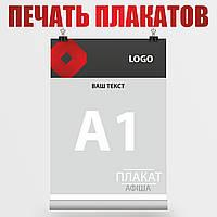 Фотопечать плакатов А1