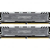 Модуль памяти для компьютера DDR4 16GB (2x8GB) 3200 MHz Ballistix Sport MICRON (BLS2K8G4D32AESBK)