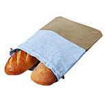Эко мешочек для хлеба (лён + хлопок), фото 2