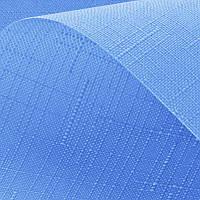Рулонные шторы Len. Тканевые ролеты Лен Голубой 2074, 157.5