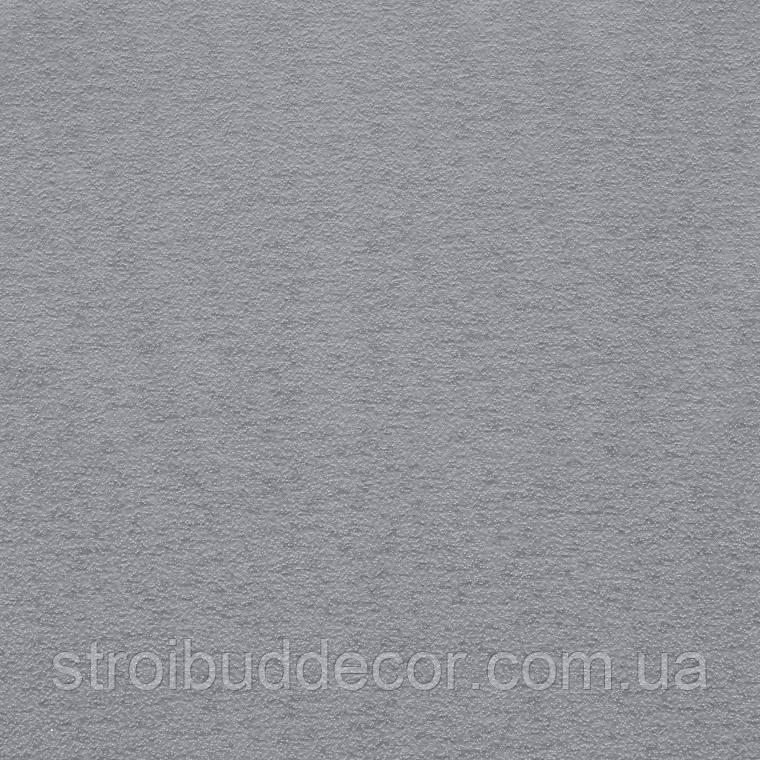 Обои бумажные акриловые (пенообои) однотонные  0,53*10,05 Слобожанские серые