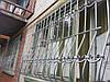 Кованая решетка  на окна формы Луковица арт.кр 42
