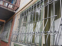 Кованая решетка  на окна формы Луковица арт.кр 42, фото 1