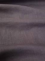 """Льняная сорочечная ткань графитового цвета с """"эффектом помятости"""", фото 1"""