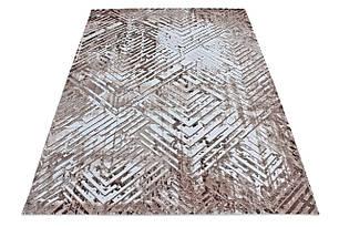 Ковер современный VALS W8380 1,6Х2,3 БЕЖЕВЫЙ прямоугольник