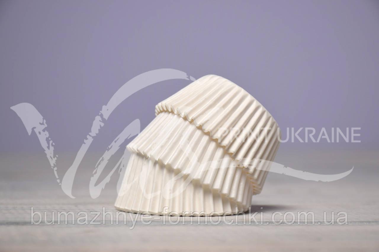 Одноразовые формочки  для выпечки кексов, 40х24 мм