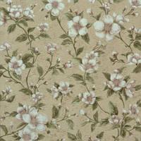 Обои бумажные акриловые (пенообои) узор цветы 0,53*10,05 Слобожанские