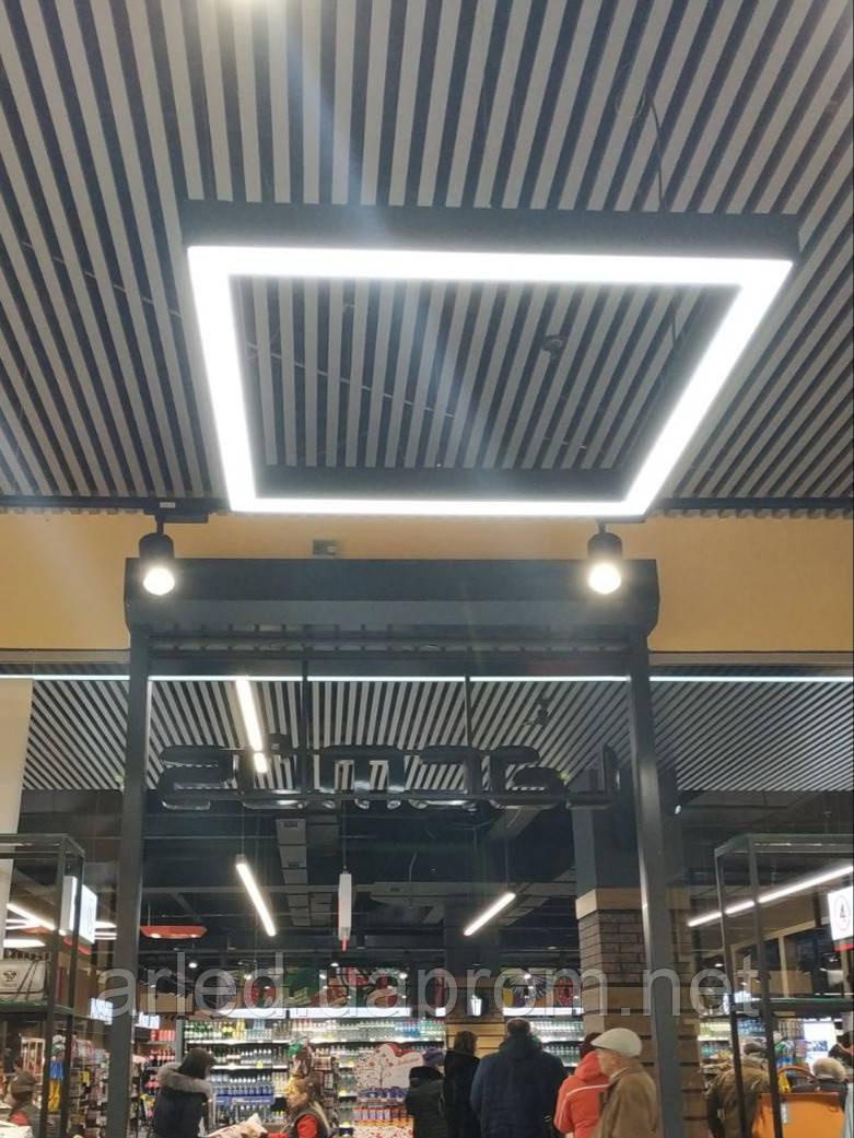 Светодиодные светильники квадрат Promo 72w