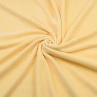 Велюр х/б светло-жёлтого цвета