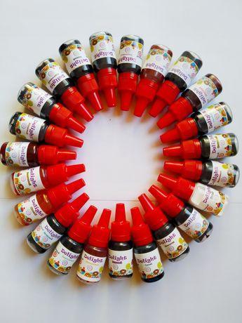 Гелевый пищевой краситель  10ml Delight  опт 500 шт