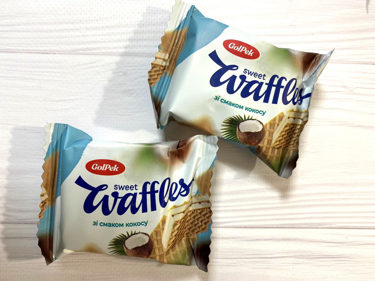 Вафельная конфета свит вафель (sweet waffles) кокос 1.5 кг
