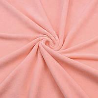 Велюр х/б персикового цвета