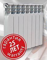 Биметаллический радиатор 10 секций EKVATOR (Украина)