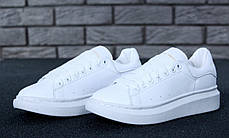 Женские кроссовки Alexander McQueen Oversized Sneakers. ТОП Реплика ААА класса., фото 2
