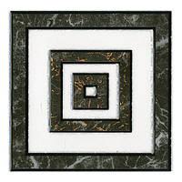 Декор Интеркерама Алон 13,7x13,7 серый (71)