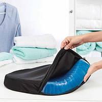 Ортопедическая гелевая подушка Egg Sitter для сидения (Живые фото)