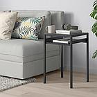 Столик с двусторонней столешницей IKEA NYBODA темно-серый черный 40x40x60 см 504.526.31, фото 3