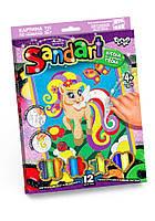 Фреска из цветного песка SAND ART Danko Toys Пони SA-01-04