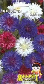 Семена цветов Василёк 0.5г (Малахiт Подiлля)