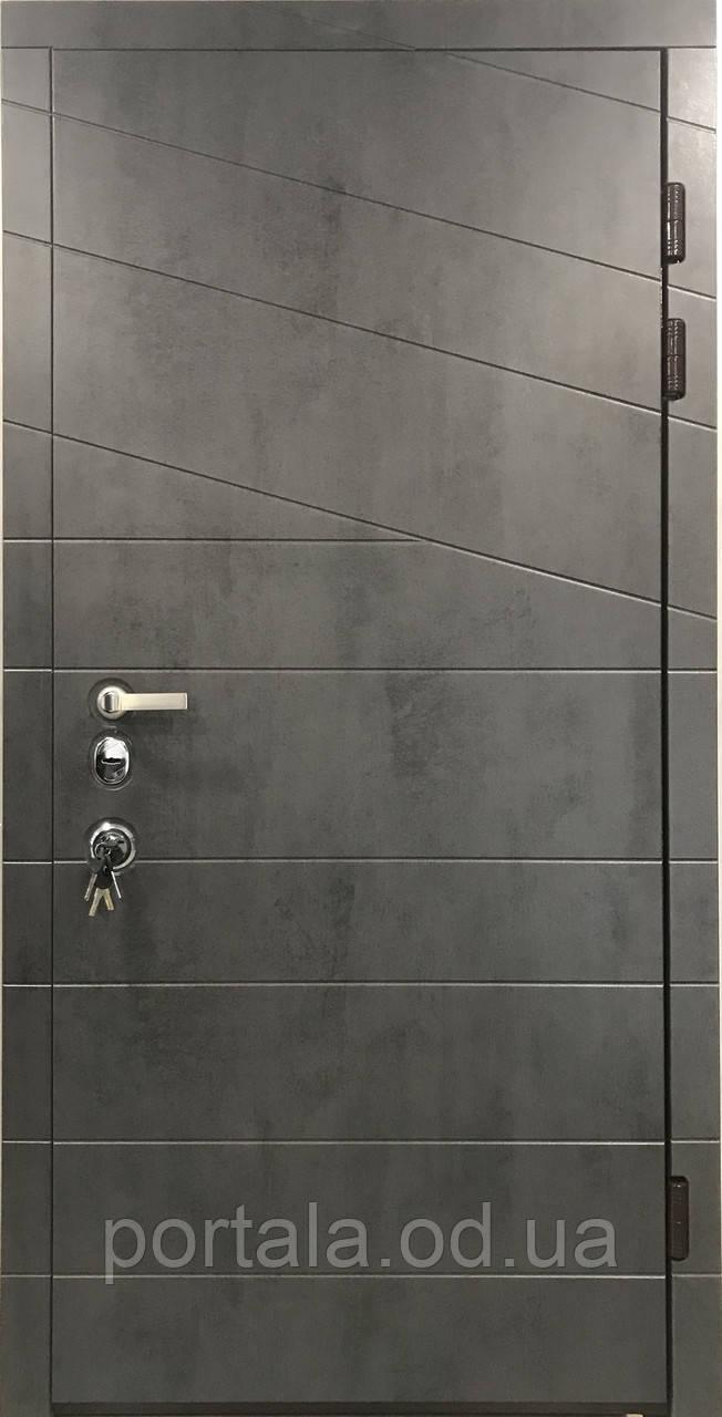 """Вхідні двері """"Портала"""" (серія Еліт) ― модель Діагональ 2"""