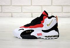 Мужские кроссовки Nike Air Max Speed Turf White Black Red. ТОП Реплика ААА класса.
