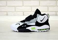 Мужские кроссовки Nike Air Max Speed Turf. White Black. ТОП Реплика ААА класса.