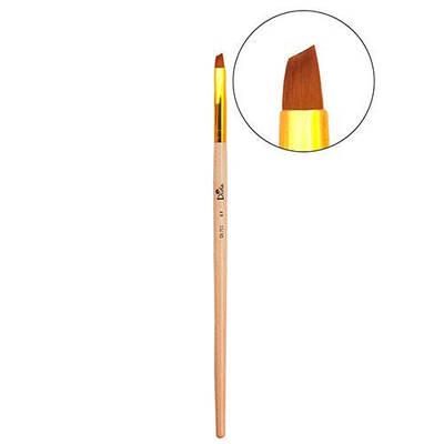 Кисть для дизайна и моделирования ногтей Divia Di713 - №5 (Лепесток)