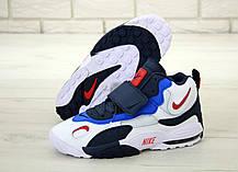 Мужские кроссовки Nike Air Max Speed Turf. White Black Blue. ТОП Реплика ААА класса., фото 3