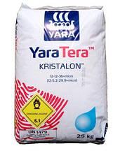 Добрива Yara Кристалон 12-12-36 червоний / Добриво KRISTALON 12-12-36 RED (25 кг)