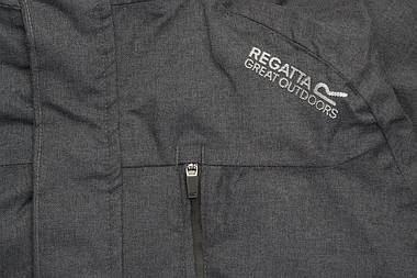Куртка чоловіча Regatta Highside III S Seal Grey, фото 3
