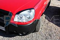 Реснички на фары Fiat Doblo 2005-2010