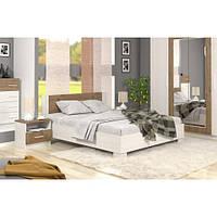Кровать Маркос 180 (каркас без ламелей) андерсен/дуб април