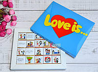 "Шоколадный набор ""Love is...""(Лав из..)"