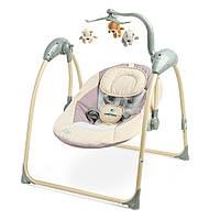 Кресло качалка Caretero Loop Beige