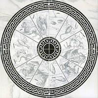 Декор Интеркерама Алон 86x86 серый (71)