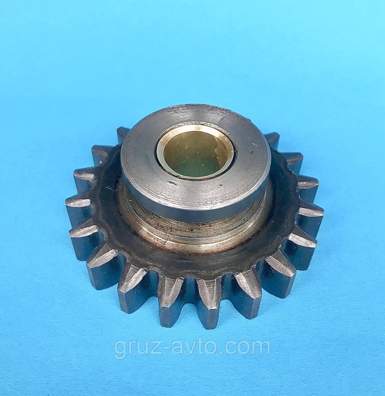 Шестерня пневмокомпрессора Д-245 посилена, ширина зуба-9мм. 12мм 14мм. Z-20 зіл-Бичок Маз-Зубренок Газ-3309