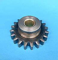 Шестерня пневмокомпрессора Д-245 посилена, ширина зуба-9мм. 12мм 14мм. Z-20 зіл-Бичок Маз-Зубренок Газ-3309, фото 1