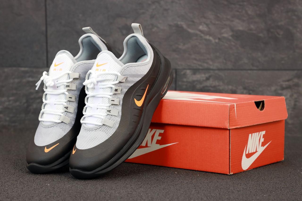 Мужские кроссовки Nike Air Max Axis. Black Grey . ТОП Реплика ААА класса.